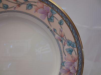 Noritake Fine Bone China Embassy Suite Dinner Plate 9756 Pink Floral Gold Japan