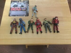 Various Action Figures, and The Walking Dead minimates