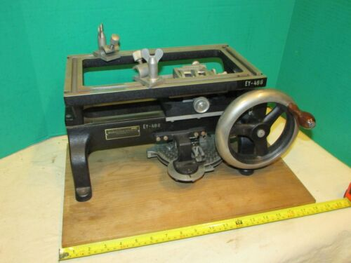 Antique Bausch and Lomb Scientific Microscope  Equipment Microtome ms