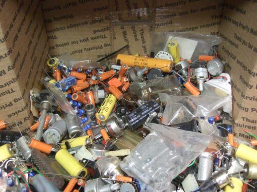 Box6 - Electronic Grab Bag! Components, Connectors, Stuff! 12lbs!