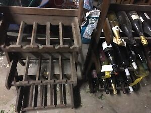 Hand made timber Wine racks St Albans Brimbank Area Preview