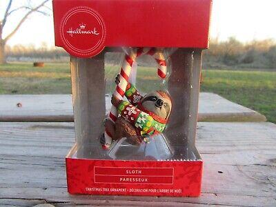 Hallmark Sloth Paresseux 2020 Christmas Ornament Decoration