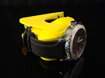 I BY INVICTA MENS BEAUTIFUL LUME 49MM METALLIC RED & BLACK DIAL