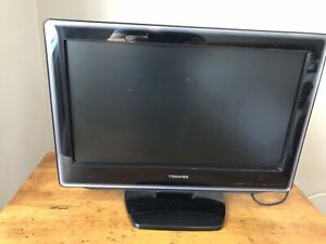 Toshiba 19' flat screen TV with DVD player