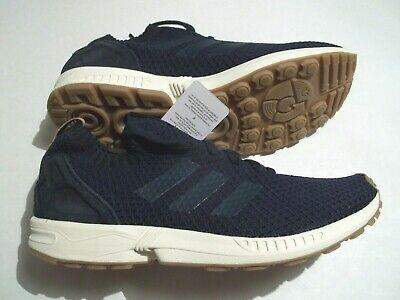 1a63fac41312a NEW Adidas Men s Size 11 ZX Flux Pk Originals Blue Textile Shoes BA7372