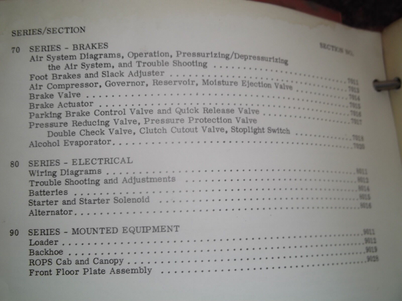 case 680 ck backhoe loader service shop workshop repair book manual rh picclick com