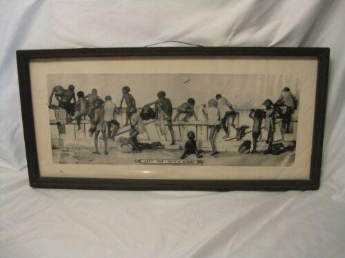 Black Americana Framed Print