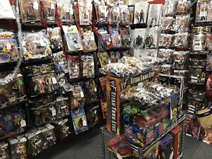 Hockey Cards WWE Figures POP Culture Toys OPEN 10-8 Christmas!!!