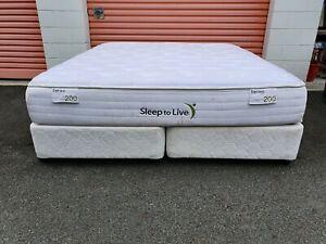 King ensemble bed