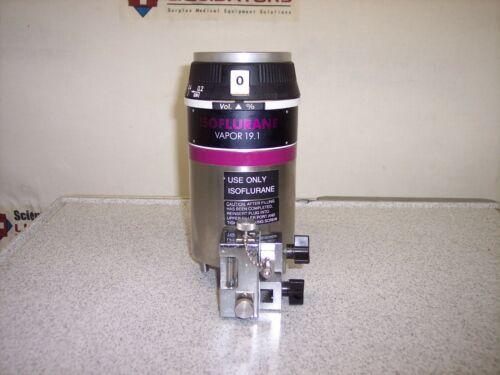 North American Drager Isoflurane Vapor 19.1 Vaporizer