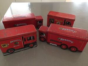 Arnotts Collectable Biscuit Vintage Truck Tins Varsity Lakes Gold Coast South Preview