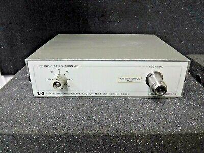 Hp 8502a Transmissionreflection Test Set 500khz - 1.3ghz