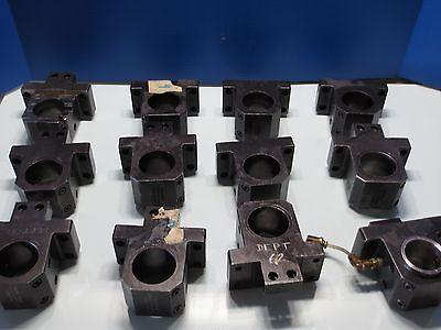 Hardinge Cnc Lathe Super Slant Sb-2h Tool Block Holder Turret Lot Of 3