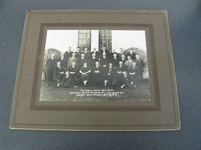 1925 Prudential Insurance Company Farthest Outpost Photo - Edmonton Alberta.