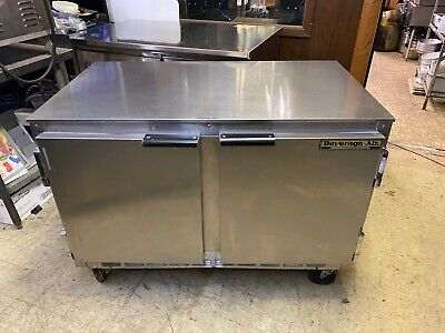 2 Dr. Beverage Air Under Counter Work Top Cooler Excellent Condition