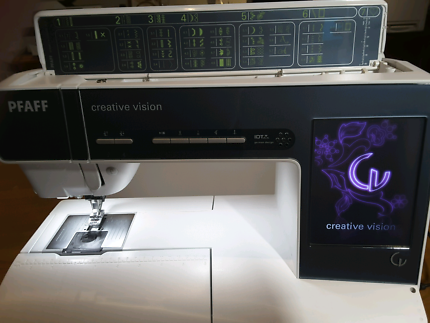 Pfaff Creative Vision Embroidery / Sewing Machine 5.5