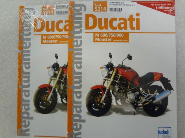 Reparaturanleitung, Buch, Ducati Monster M 600, M 750, M 900, ab 1993, Band 5214