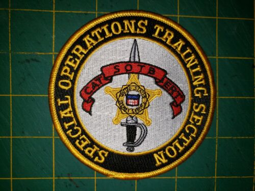 SPECIAL OPERATIONS TRAINING SECTION USSS SECRET SERVICE POLICE PATCH CAT SOTB