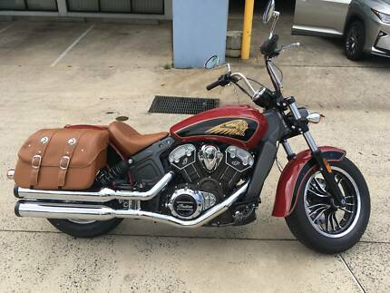 2017 INDIAN SCOUT WITH LOW KM. PERFECT CONDITION