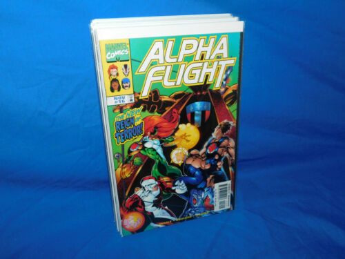 ALPHA FLIGHT # 16 1ST CAMEO APPEARANCE OF BIG HERO 6 VF+