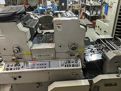 Hamada H234c Offset Printing Press - Used - 89x40x57 - 38313140 Clicks