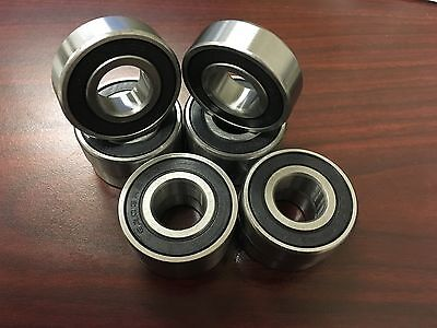 Qty.10 6203-2rs-c3 17x40x12mm Emq Bearing Z2v2 Abec 3