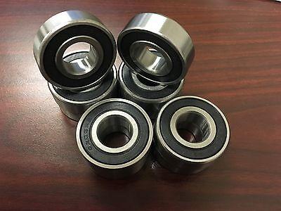 (Qty.10) 6203-2RS-C3 17x40x12mm EMQ Bearing Z2V2 ABEC 3