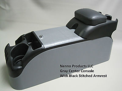 (Gray Center Console With Black Armrest Crown Victoria P71 Police      )