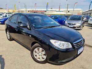 2010 Hyundai Elantra HD MY10 SX Black 4 Speed Automatic Sedan 2.0L Petrol Cannington Canning Area Preview