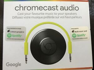 Chromacast audio