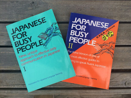 Japanese for busy people  Noraville Wyong Area Preview