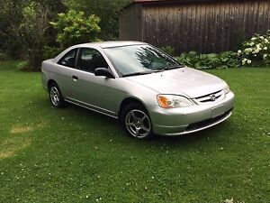 Honda Civic DX Coupe 2001 manuel