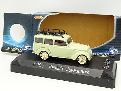 Solido 1/43 Renault Juvaquatre Break 1952 45102