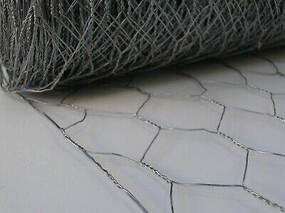 Chicken/Rabbit Wire Netting Fencing 1.0m x 51 x 50mtr - 17g Fence (cwn51150)