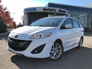 2013 Mazda Mazda5 GT LEATHER, SUNROOF, HEATED SEATS, BLUETOOTH