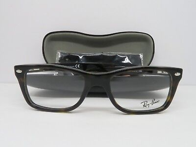 Ray-Ban RB 5228 2012 Havana New Authentic Eyeglasses 50mm 17mm 140mm w/ Case