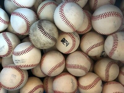15 Official Rawlings Baseballs - Various Minor League or Minor League Practice