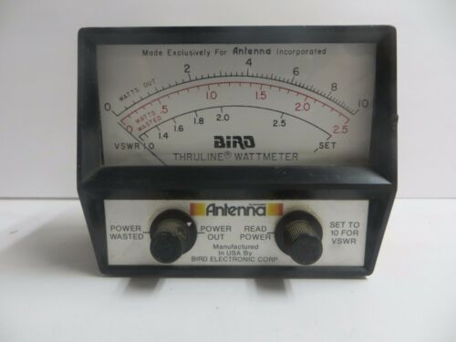 Bird Antenna Thruline Wattmeter 10-Watts