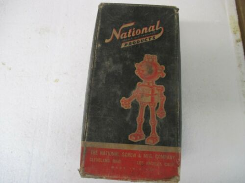 Vintage Box National Products Machine Bolts 3/8 x 4 1/2