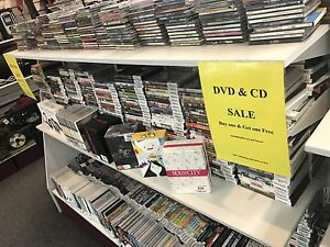 Huge DVD and CD Sale (Buy 1 Get 1 Free) Yarraville Maribyrnong Area Preview