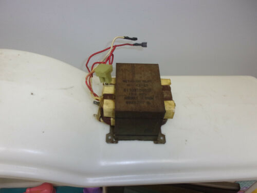 GE General Electric Microwave Oven High Voltage Transformer WB27X10711