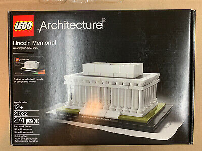LEGO Architecture 21022 Lincoln Memorial Set New In Sealed Box FREE SHIPPING