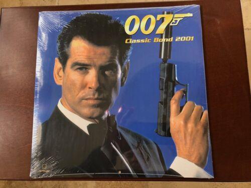 Classic JAMES BOND 007 Calendar 2001 - NEW SEALED - TeNeues