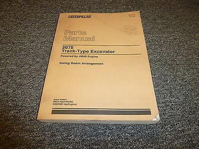 Caterpillar Cat 307b Track Type Excavator Swing Boom Parts Catalog Manual