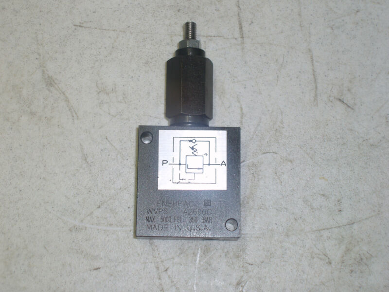 ENERPAC WVP5 A2600C SEQUENCE VALVE