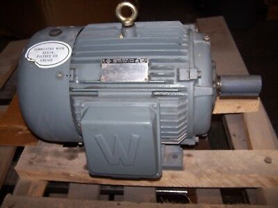 New Worldwide 15 Hp Ac Electric Motor 254t Frame 230460 Vac 3550 Rpm Tefc