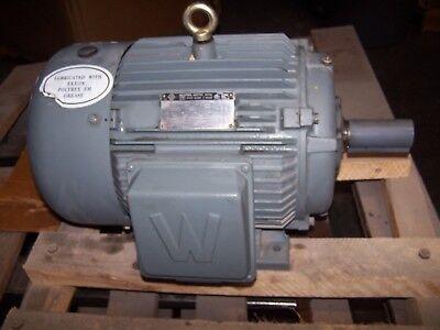 New Worldwide 15 Hp Ac Electric Motor 254t Frame 230460 Vac 3550 Rpm Tefc