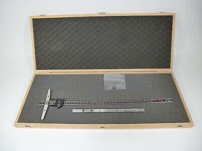 Mahr 20 500mm Digital Depth Gauge Caliper Marcal 30 Ewr Model 4126702 W Box