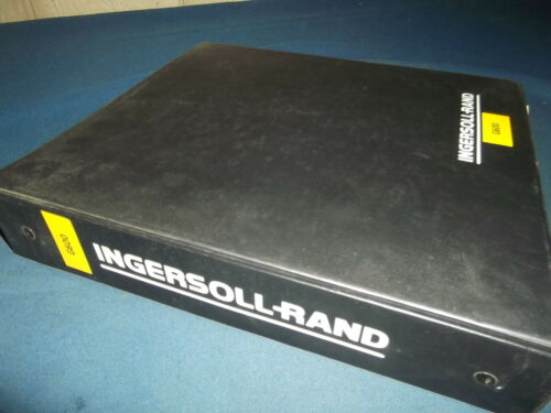 INGERSOLL RAND G600 MOBILE GENERATOR OPERATION MAINTENANCE PARTS SERVICE MANUAL