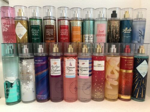 BATH & BODY WORKS FINE FRAGRANCE MIST SPRAY 8 oz each  [ You Choose Your Scent ]